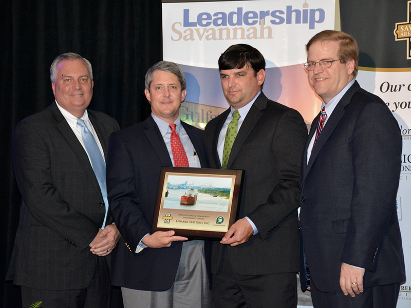 Enmarket Receives Gulfstream Community Award at Leadership Savannah