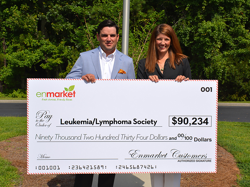 EnMarket donation to Leukemia & Lymphoma Society