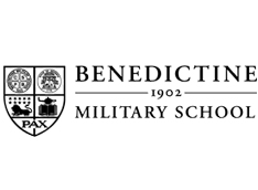 Benedictine Military School logo