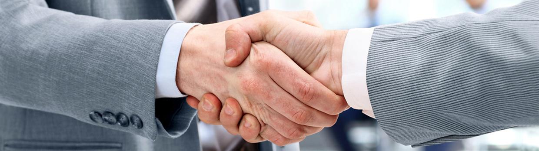 Mission Statement Image- Business Handshake